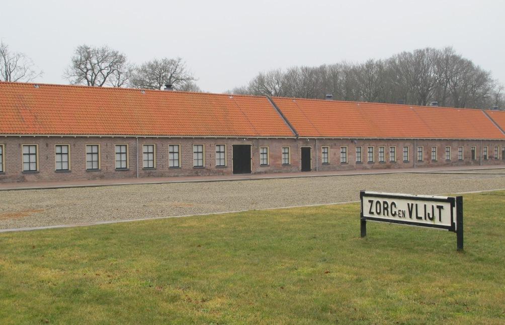 Strafkolonie Veenhuizen waar tegenwoordig het Gevangenismuseum gevestigd is.