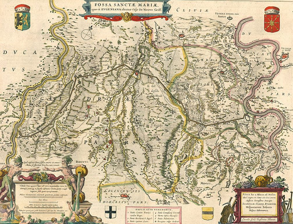 11.04.07.Fietsen langs Fossa Eugeniana - kaart
