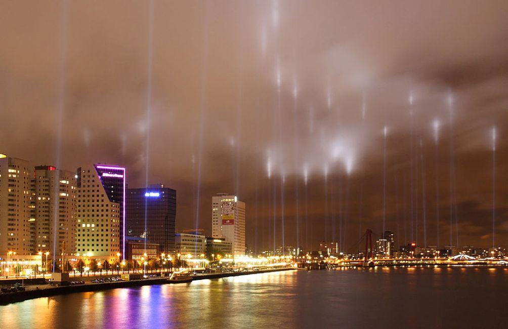 Herdenking van het bombardement van Rotterdam op 14 mei 2007
