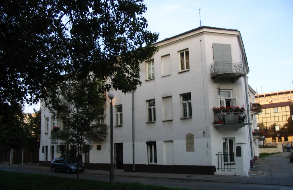 Het gebouw aan de Plantystraat no.7