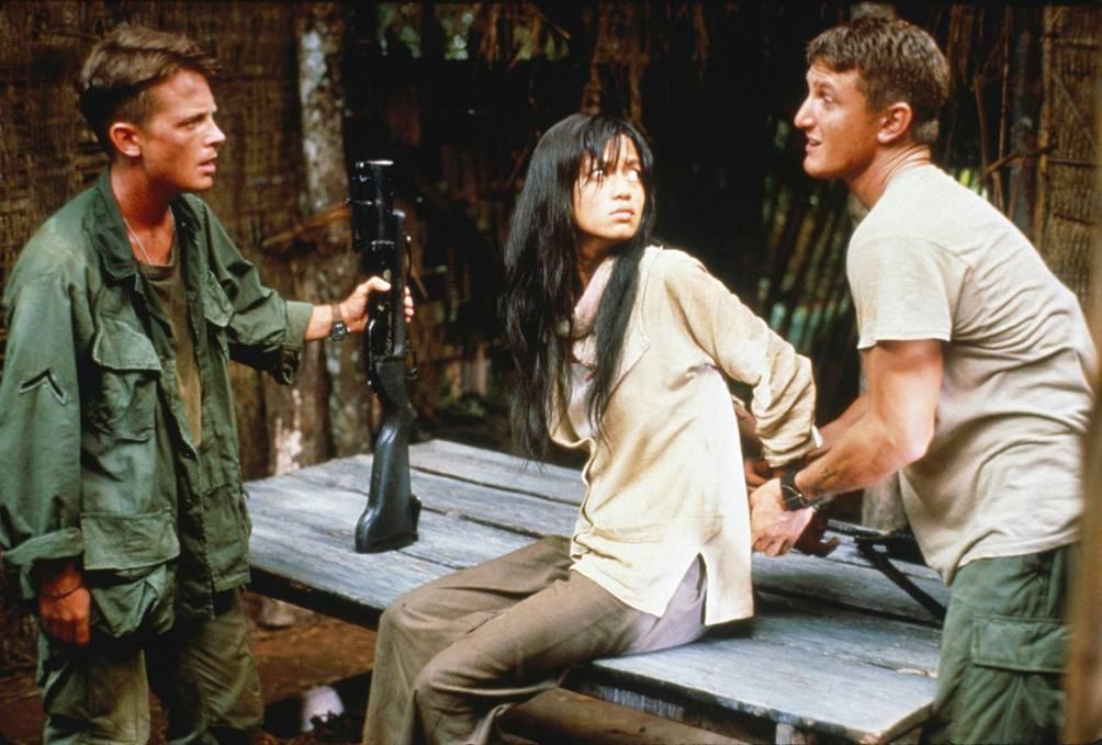 Beeld uit de film Casualiteis of War.