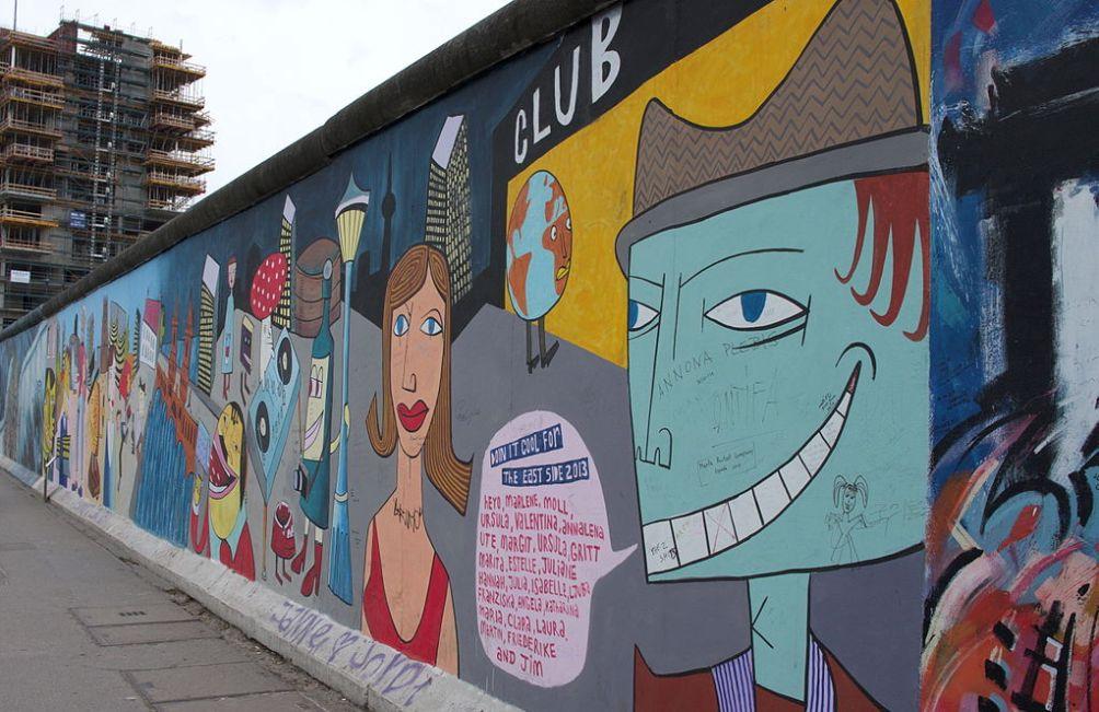 11.08.13.Bezoek Berlijn Koude Oorlog - muur gallery