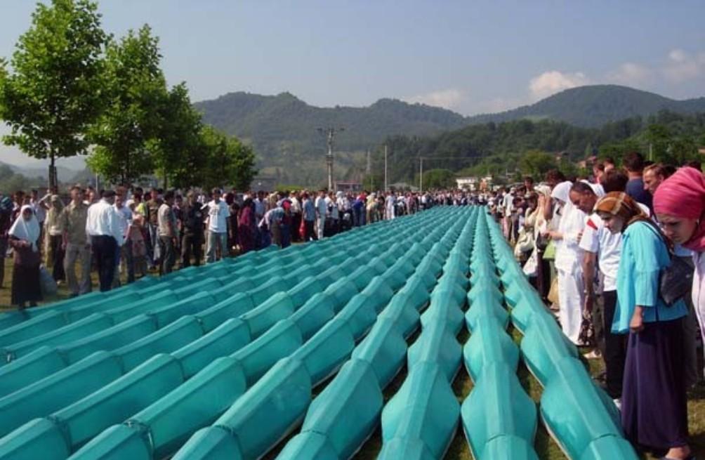 Begrafenis bij Potocari