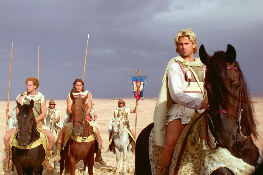 Colin Farrell als Alexander de Grote. (foto: A-film)