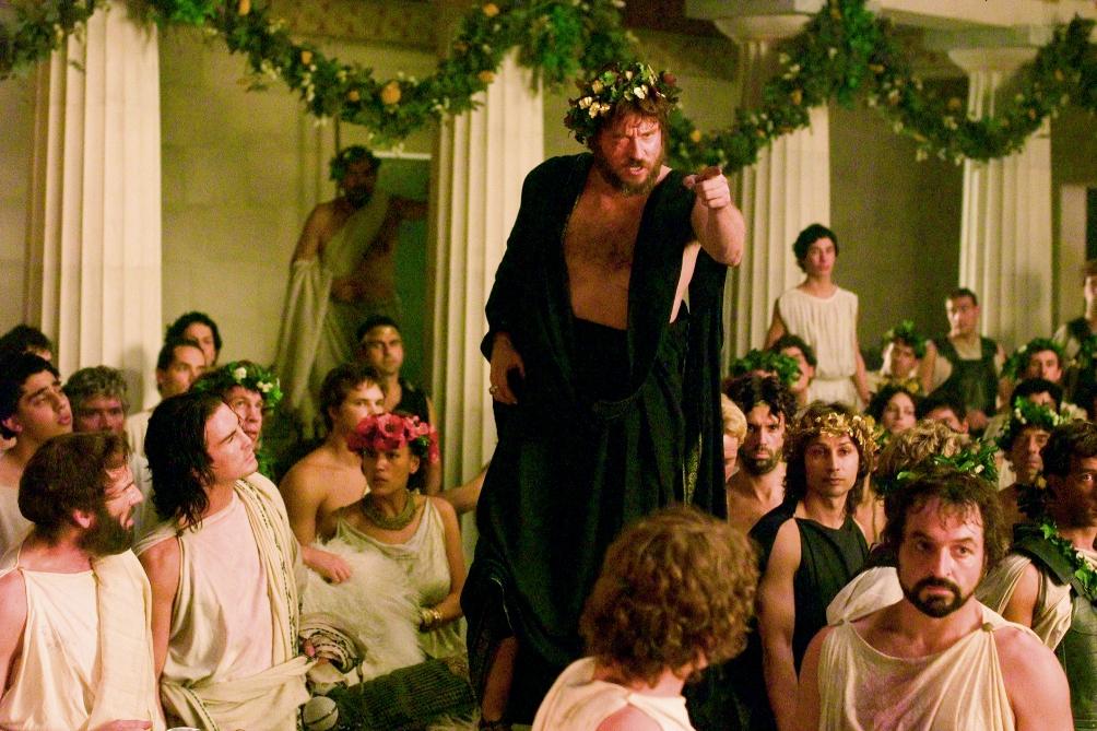 De vader van Alexander de Grote wordt gespeeld door een eenogige Val Kilmer.