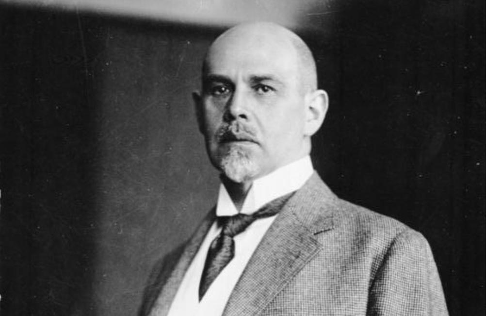 Walter Rathenau in 1921. (foto: Wikimedia)