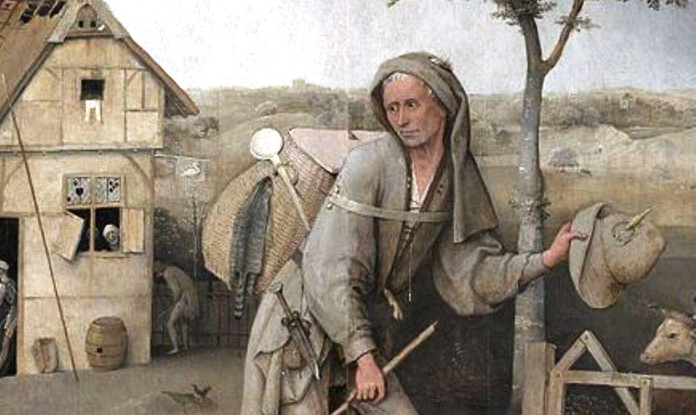 11.12.01.Toerisme Santiago - pelgrim Bosch