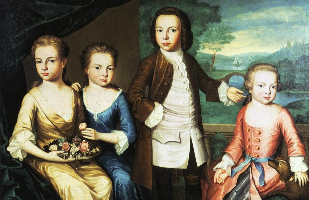 The Gore Children door John Singleton Copley, 1755.