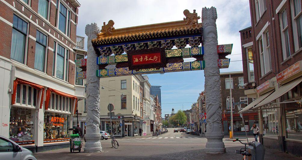 De buurt waar de huidige Chinese buurt van Den Haag ligt, was vroeger de Haagse Jodenbuurt.
