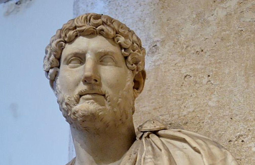 Buste van keizer Hadrianus, in collectie van de Capitoleinse Museum in Rome. (foto: Wikimedia)