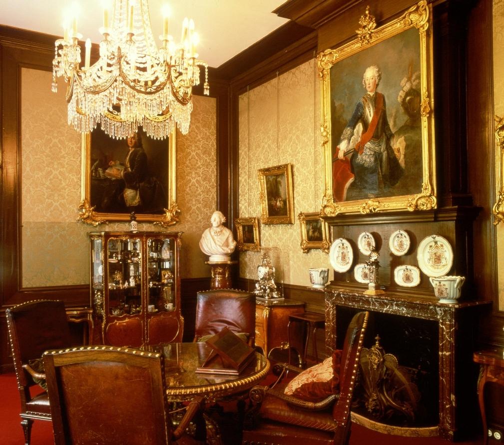 Rookkamer van Wilhelm II in Huis Doorn.