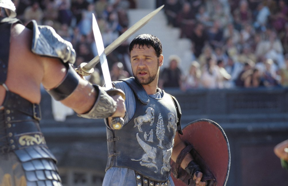 Maximus in de film Gladiator