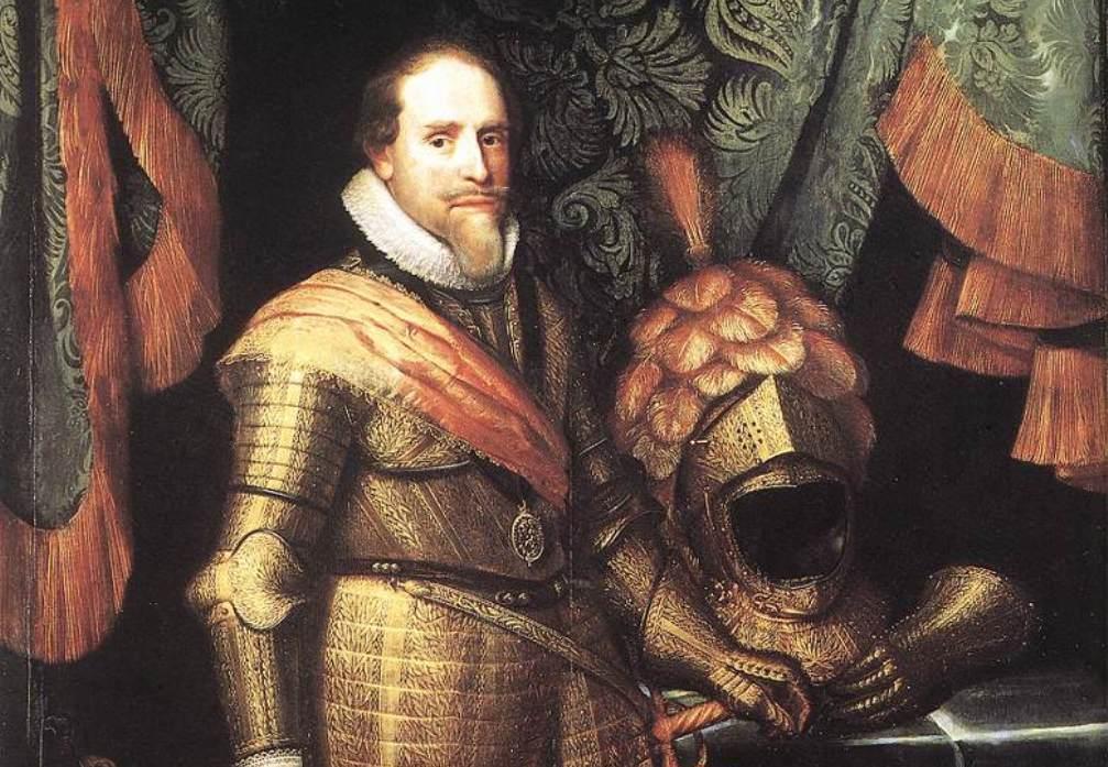 Portret van Maurits, prins van Oranje, Michiel Jansz. van Mierevelt, ca. 1613 - ca. 1620. (Collectie Rijksmuseum)