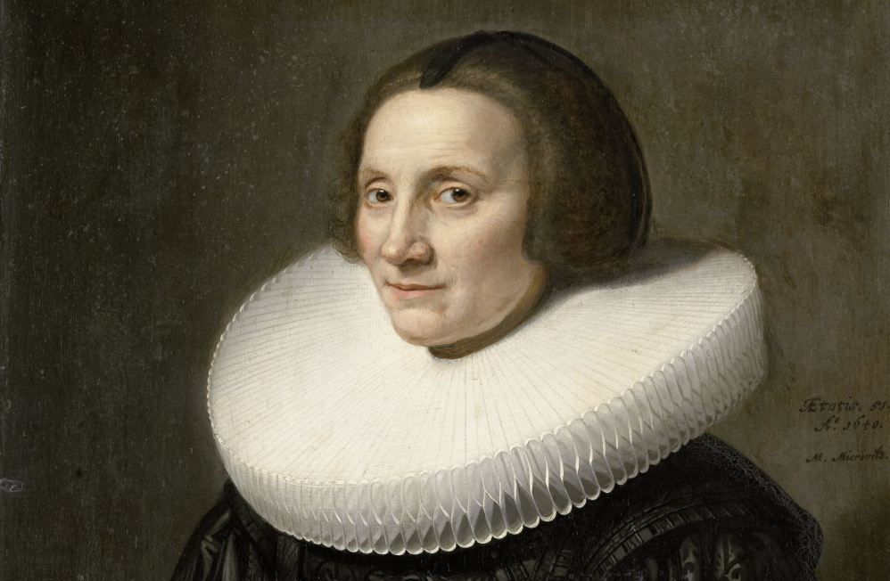 Portret van Caecilia van Beresteyn (1589-1661), Michiel Jansz. van Mierevelt, 1640