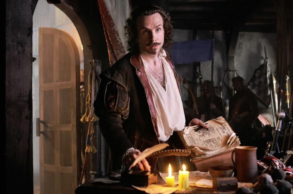 Shakespeare door acteur Rafe Spall in de film Anonymous.