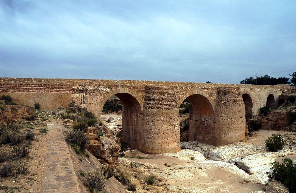 12.03.28.Erfgoed Arabische Lente - Sbeitla aquaduct