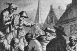 Pamfletten: snelle media in vroegmoderne tijd