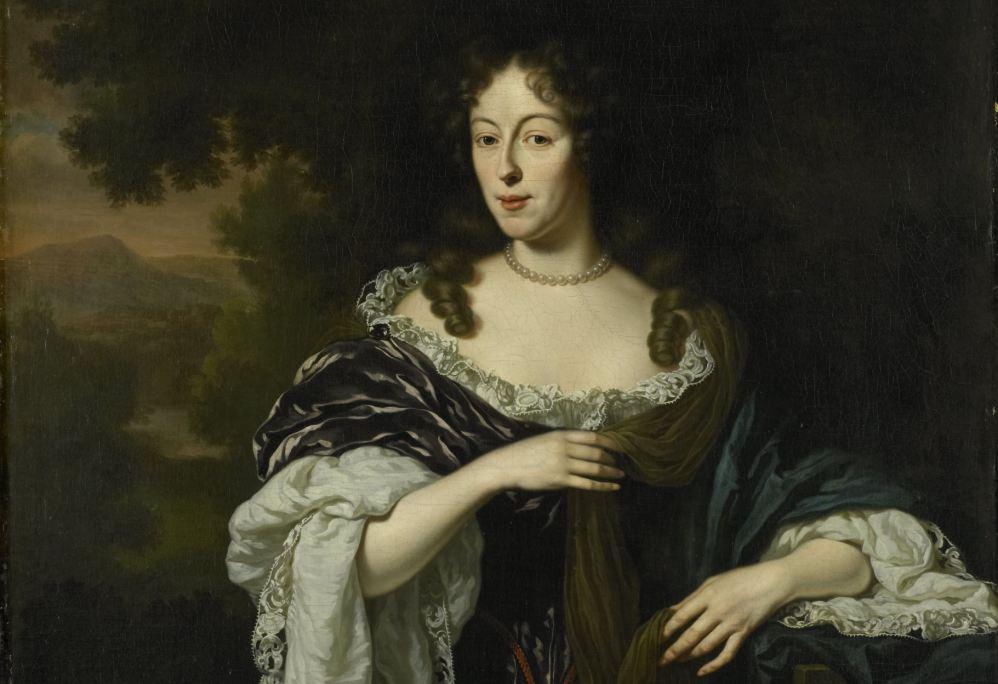 Maria Schaep (1658-1725), echtgenote van Hendrick Bicker, Michiel van Musscher, 1682