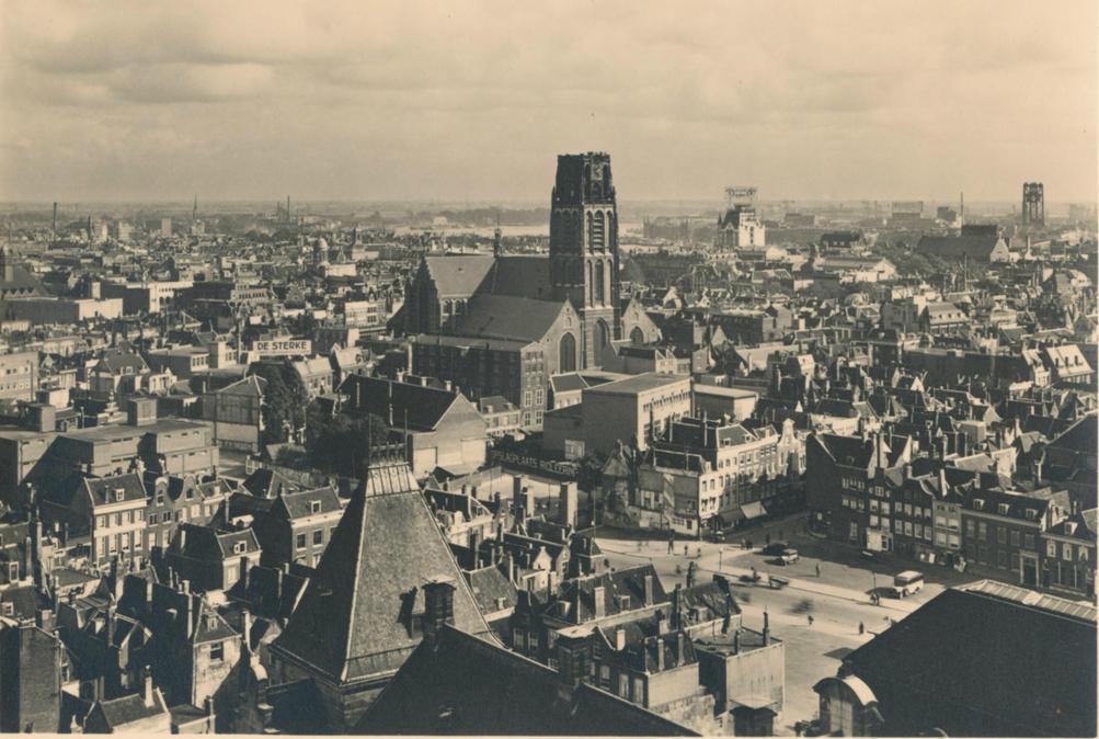 Rotterdam voor het bombardement van 14 mei 1940. (Foto: Flickr/Jan Willemsen)