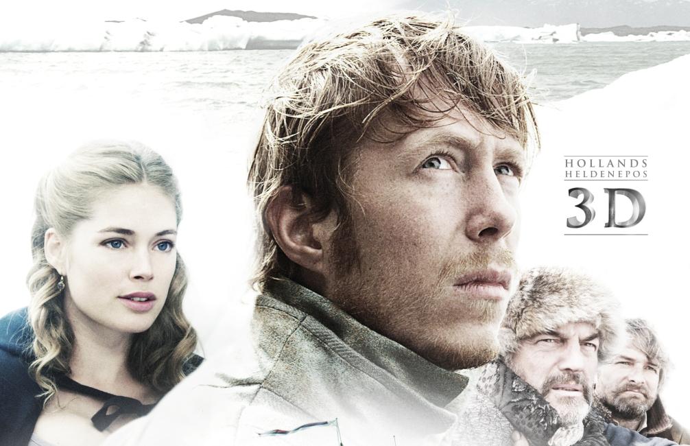 Detail uit de poster van de Nederlandse 3D-film Nova Zembla.