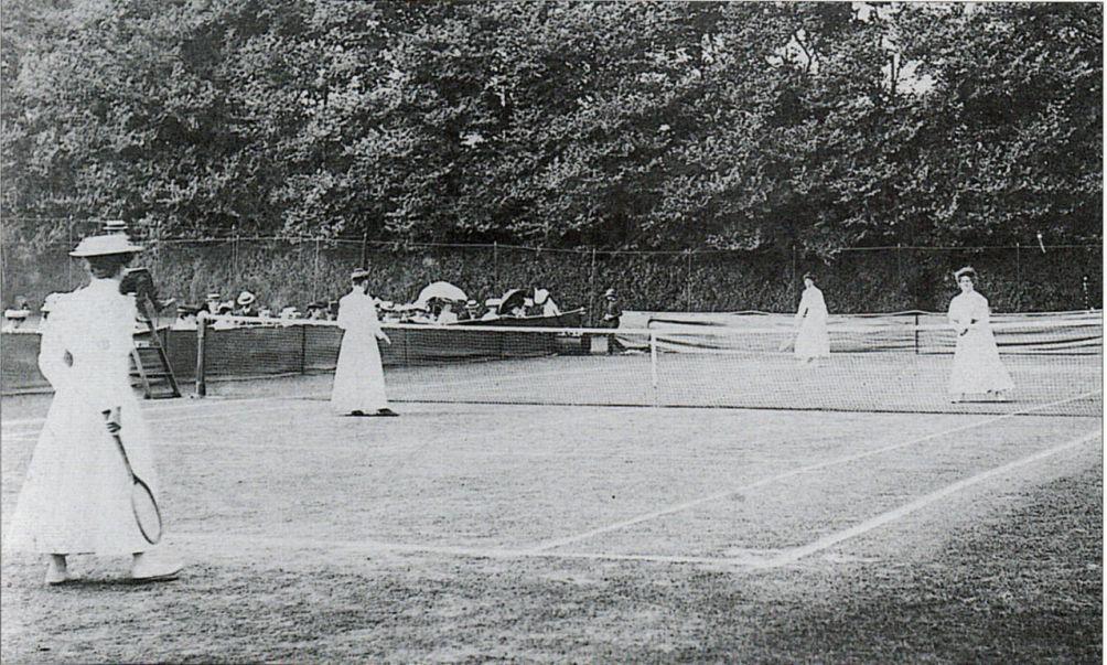 12.07.05.Wimbledon - dames dubbel finale 1906