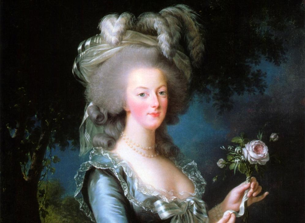 Marie Antoinette op 28-jarige leeftijd. (Foto:Wikimedia)