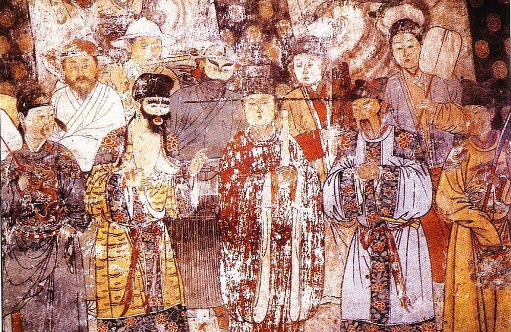 12.07.24.Mongolen sociaal beleid - muurschildering