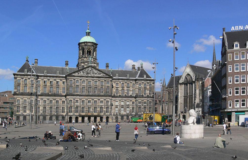 Koninklijk Paleis op de Dam in Amsterdam