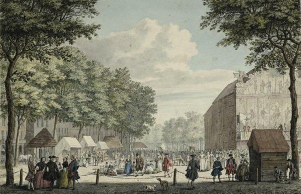 Vredenburgplein circa 1760 (foto: Wikimedia)