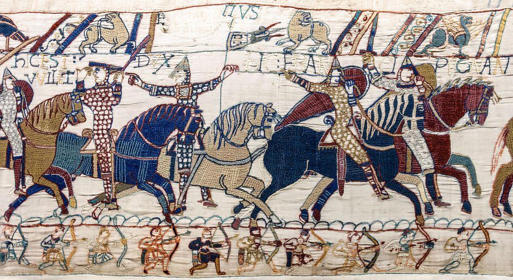 12.09.29.Tapijt van Bayeux - Hastings