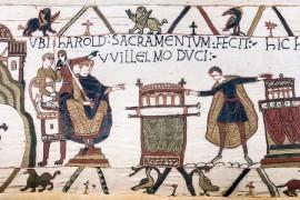 De losse draden van het tapijt van Bayeux
