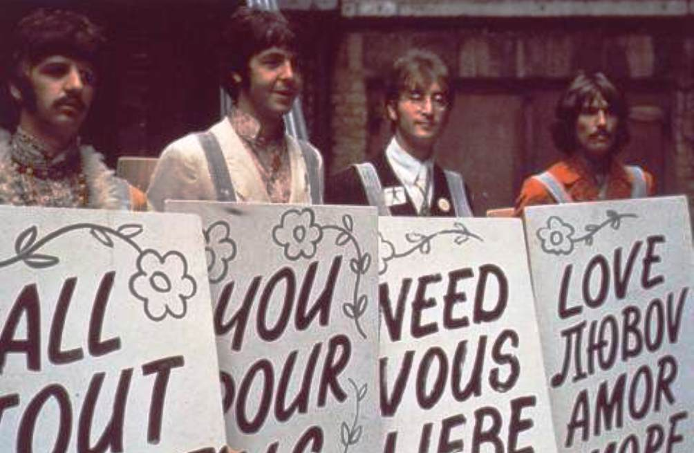 12.10.05.Beatles - all you need is love