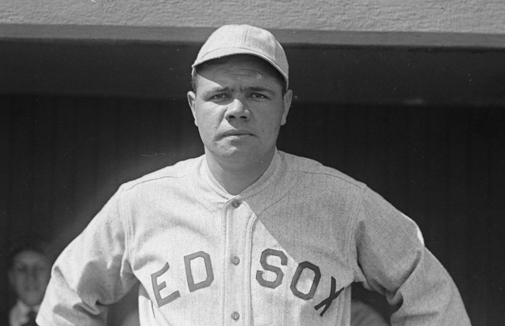 12.10.09.Babe Ruth - Red_Sox_1918
