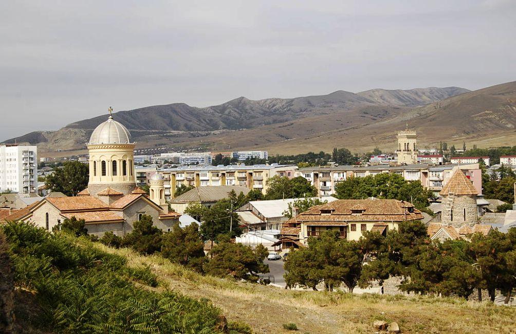 Uitzicht over Gori. (foto: Wikimedia)