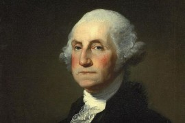 George Washington unaniem eerste president VS