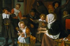 Een verboden feest vastgelegd door Jan Steen