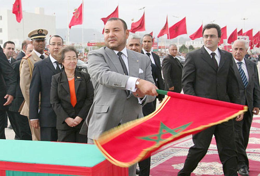 Koning Mohammed VI bij de opening van de weg tussen El Jabha en Tetouan op 6 september, 2007 (foto: Wikimedia)