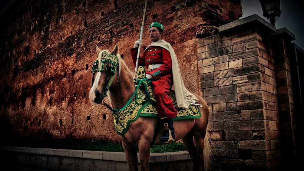 12.12.18.Marokkaans koningshuis - wachter