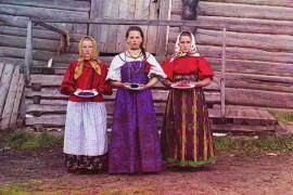 De romantiek van Prokoedin-Gorski's kleurenfoto's