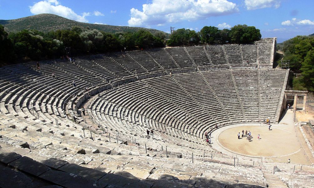 Theater van Epidaurus