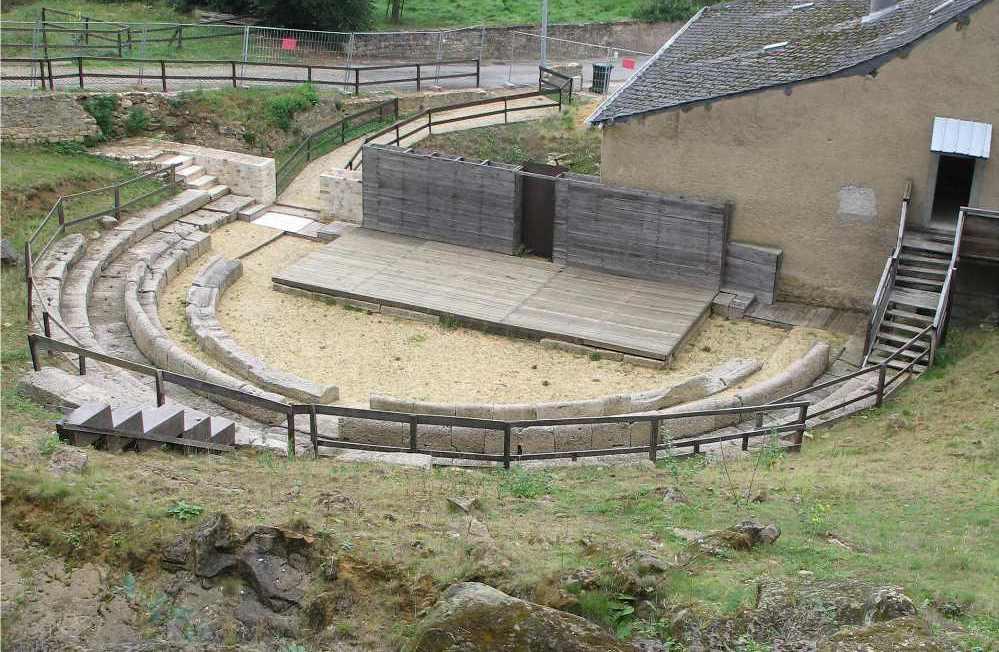Het Grieks theater in Dalheim. (foto: Wikimedia)