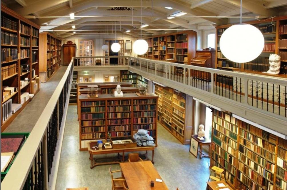 De bibliotheek van artis de natuur als leermeesteres geschiedenis beleven - Idee bibliotheek ...