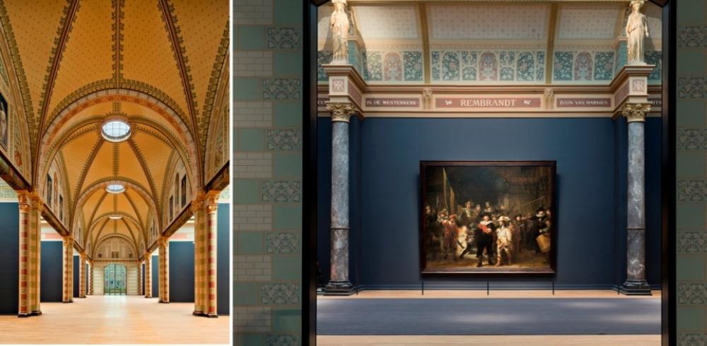 De eregalerij van het Rijksmuseum met als hoogtepunt de Nachtwacht van Rembrandt van Rijn. (foto's: Rijksmuseum)