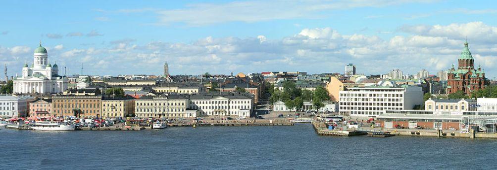 Zicht op Helsinki. (foto: Wikimedia)
