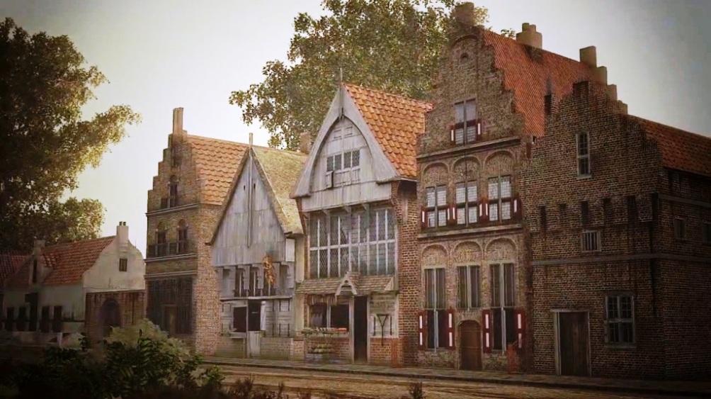 Wandel door arnhem in de 17e eeuw geschiedenis beleven - De gevels van de huizen ...