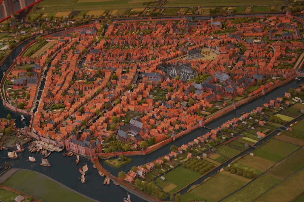 13.08.02.Artikel.Catharina_Gasthuis - maquette Gouda