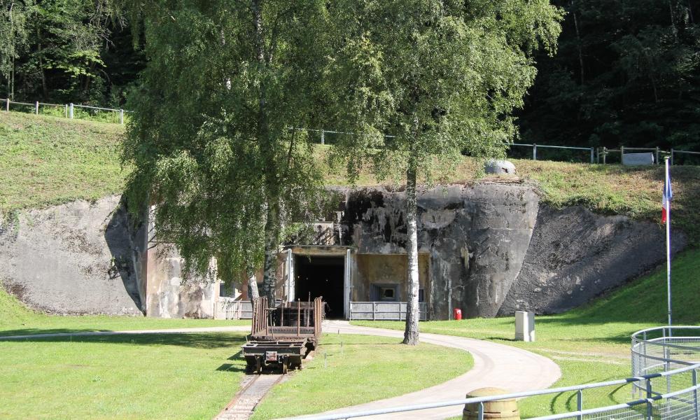 Ouvrage Simserhof, deel van de Maginotlinie. (Foto: Wikimedia)