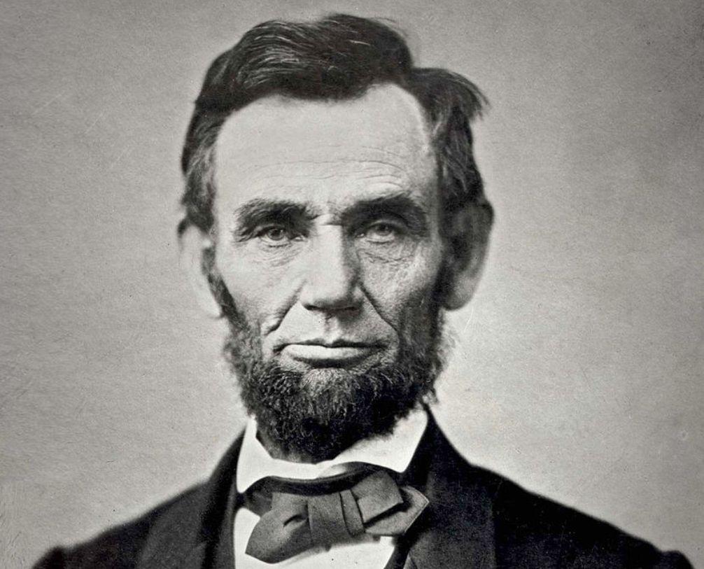 Portret van Abraham Lincoln uit november 1863 (foto: Wikimedia).