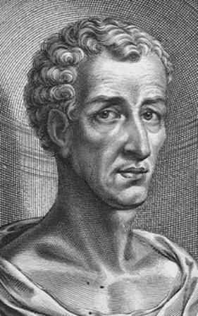 Portret van Lucianus gemaakt door de 17e-eeuwse schilder en graveur William Faithorne (foto: Wikimedia)