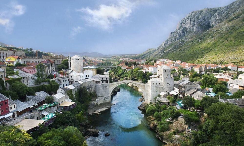 De brug van Mostar